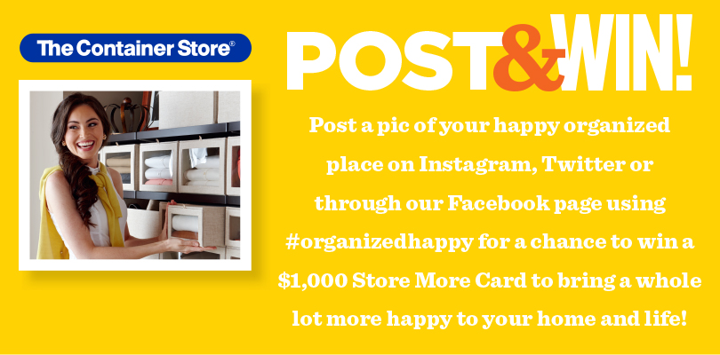 Organized Happy Photo Contest